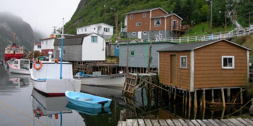 Newfoundland 2005 Bike Tour Francois -50